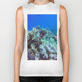 Great Barrier Reef Biker Tank