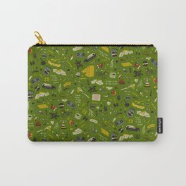 Moonrise Kingdom Plot Pattern Carry-All Pouch