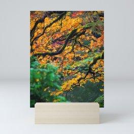 portland maple Mini Art Print