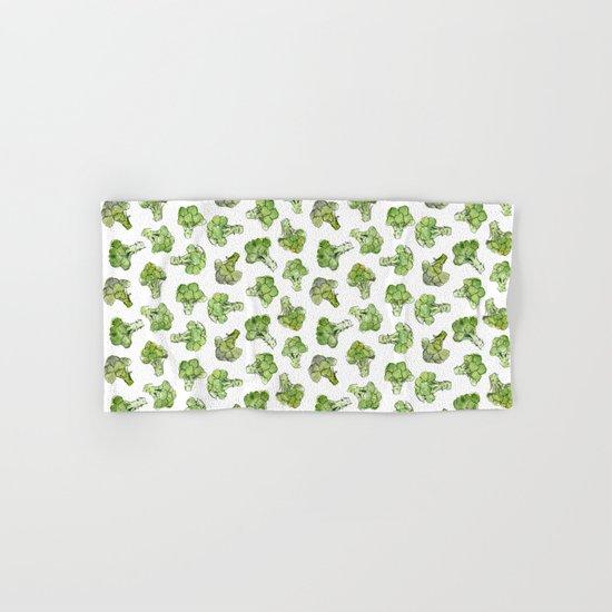 Broccoli Hand & Bath Towel