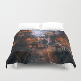 Barrio in the SE Duvet Cover