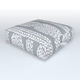 Cable Grey Outdoor Floor Cushion