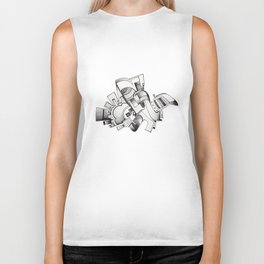 #20 – astratto Biker Tank