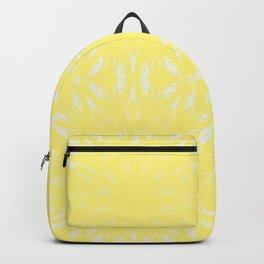 Lemon Yellow Color Burst Backpack