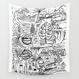 Sketch Book Wall Tapestry
