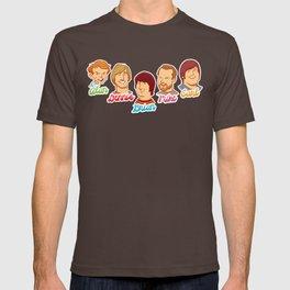 Alan & Dennis & Brian & Mike & Carl T-shirt