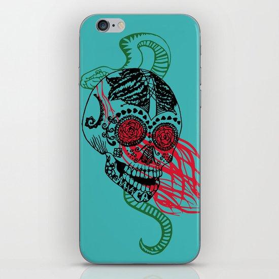Skull and Snake iPhone Skin