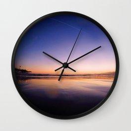 Ocean Sunset #3 Wall Clock