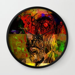 Surprised Wall Clock