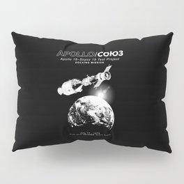 Apollo 18 Soyuz 19 docking mission Emblem-USA-USSR-1975-Space-Astronomy-Science Pillow Sham