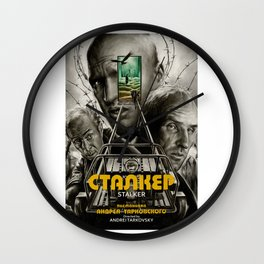 Stalker Wall Clock