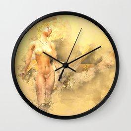 Torch Wall Clock