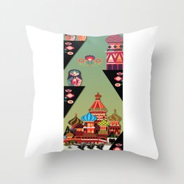 A Russian History Throw Pillow