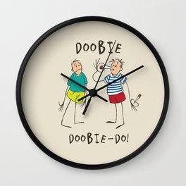 Doobie, Doobie-Do! Wall Clock