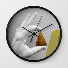 Last step, the usual obsession Wall Clock