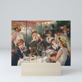 Luncheon of the Boating Party by Renoir Mini Art Print