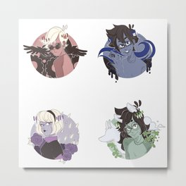 Beta Kids Metal Print