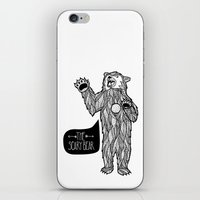 Scary Bear 2 iPhone & iPod Skin