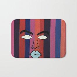 Color Me Faced Bath Mat