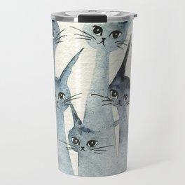 Ashland Whimsical Cats Travel Mug