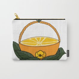 A Fruit Basket Carry-All Pouch