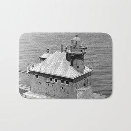 Sturgeon Bay Canal North Pierhead Lighthouse Bath Mat