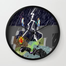 The Final Confrontation Wall Clock