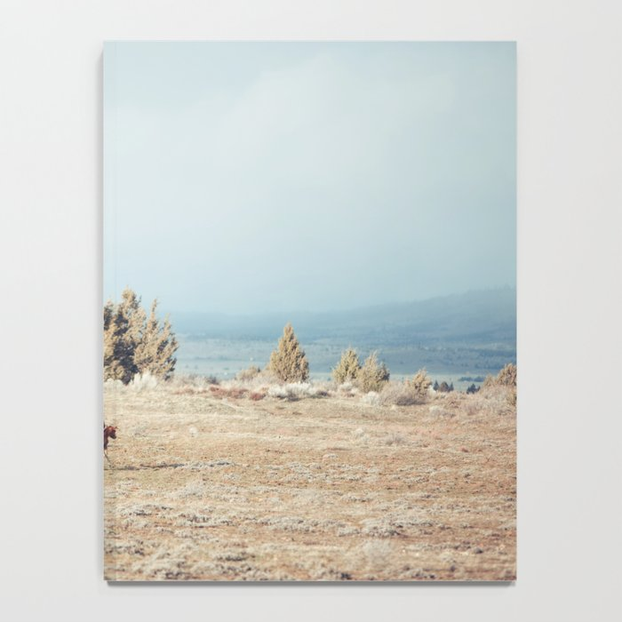 Oregon Wilderness Horses Notebook