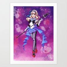 Sailor Wonderland Art Print