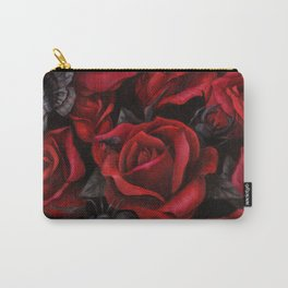 Bugs and Roses Carry-All Pouch