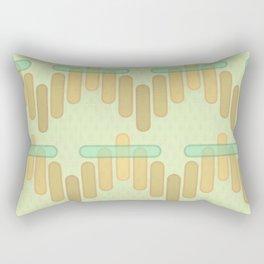 Seventies Wave Rectangular Pillow