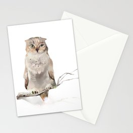 Who-who? Stationery Cards