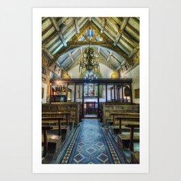 Hidden Chapel Art Print