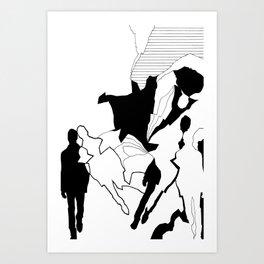 DISSOCIATION Art Print