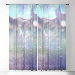 Aqua 19 Sheer Curtain