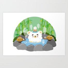 ollaお湯 Art Print