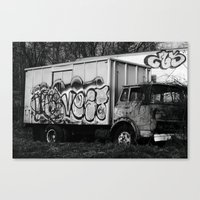 truck Canvas Prints featuring Truck by N. Negron Photography