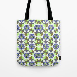 FLOWER OF LIFE GEOMETRIC PATTERN Tote Bag