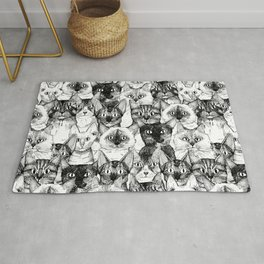 just cats Rug