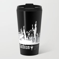 One Sixth Ism (White World) Travel Mug
