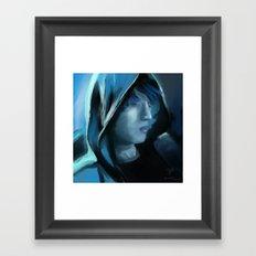 Blue Serenity Framed Art Print