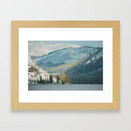 Tenya Lake in Yosemite National Park Framed Art Print