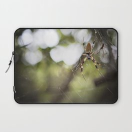 Walking in a spiderweb Laptop Sleeve
