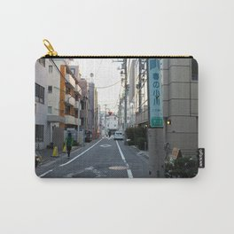 Sunset over Tokyo Alleys Carry-All Pouch