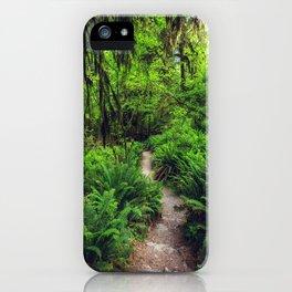 Rainforest Trail iPhone Case