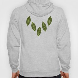 green foliage Hoody