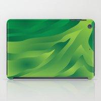 camo iPad Cases featuring Camo Green by Ramon J Butler-Martinez