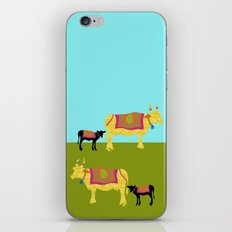 Streets of India- Cows iPhone & iPod Skin