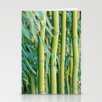 bamboo Stationery Cards featuring Bamboo by Laura Ruth
