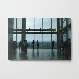 Milan View Metal Print